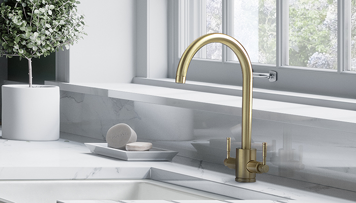 Rangemaster adds new finishes to kitchen taps