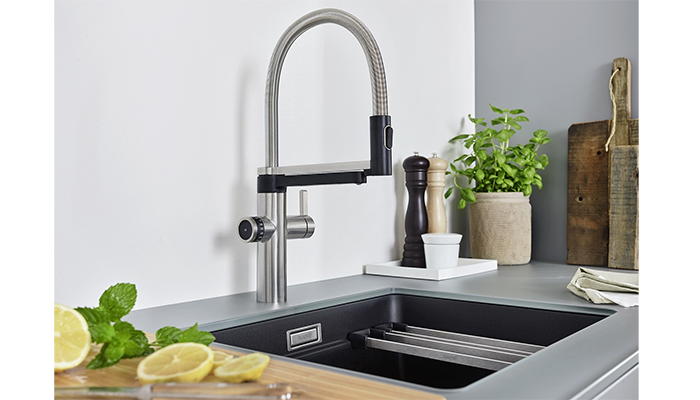 Blanco adds new 4-in-1 Evol-S boiling water tap to portfolio