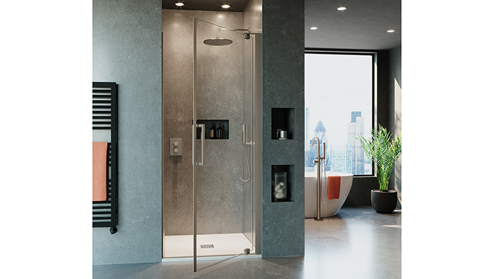 Crosswater introduces new 10mm shower enclosure ranges